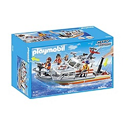 Playmobil - Rescue Boat with Water Hose