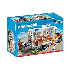 Playmobil - Ambulance with Siren