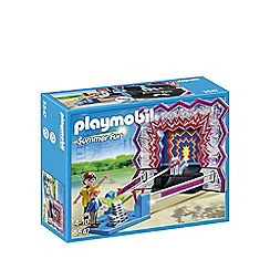 Playmobil - Tin Can Shooting Game