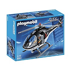 Playmobil - Tactical Unit Helicopter
