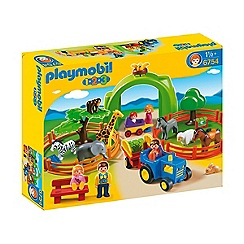Playmobil - 123 Large Zoo
