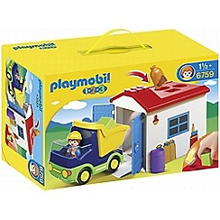 Playmobil - 123 Truck & Garage