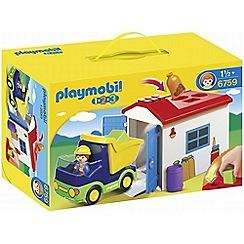 Playmobil - 123 Truck & Garage