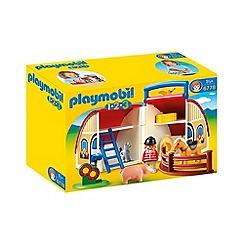 Playmobil - 123 Take Along Barn
