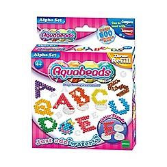 Aqua beads - Alpha Set