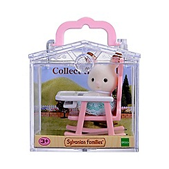 Sylvanian Families - Baby Carry Case (Rabbit on Baby Chair)