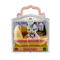 Sylvanian Families - Baby Carry Case (Cat in Cradle)
