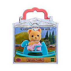 Sylvanian Families - Baby Carry Case (Bear on Rocking Horse)
