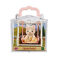 Sylvanian Families - Baby Carry Case (Cat on Swing)