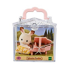 Sylvanian Families - Baby Carry Case (Rabbit with Piano)