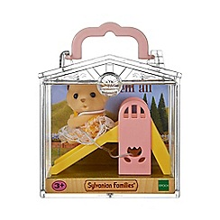 Sylvanian Families - Baby Carry Case (Dog on Slide)