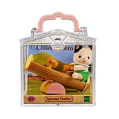 Sylvanian Families - Baby Carry Case (Cat on See-Saw)
