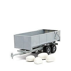 Britains Farm - Bulk tipping trailer with rocks