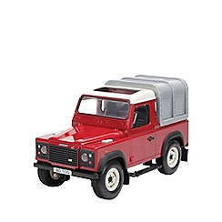 Britains Farm - Land Rover defender - burgundy