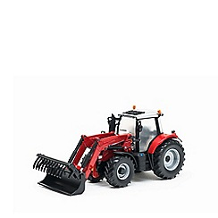 Britains Farm - Massey ferguson 6616 tractor with front loader