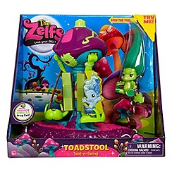 Zelfs - Toadstool Twirl-N-Swing Playset