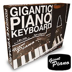 Thumbs Up - Gigantic Piano Keyboard
