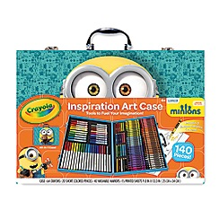 Crayola - Minions Inspirational Art Case