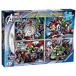 The Avengers - Bumper Puzzle Pack (4 puzzles)