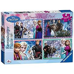 Disney Frozen - Bumper Puzzle Pack (4 puzzles)