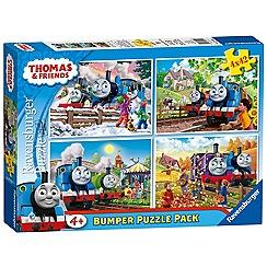 Ravensburger - Thomas Bumper Puzzle Pack (4 puzzles)