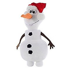 Disney Frozen - Olaf with Christmas hat - large