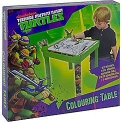 Teenage Mutant Ninja Turtles - Colouring Table