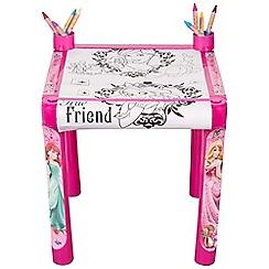 Disney Princess - Colouring Table