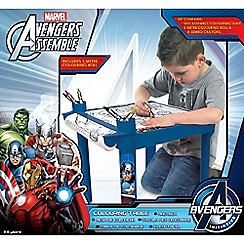 The Avengers - Colouring Table