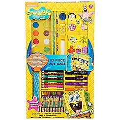 Spongebob - 52 Piece Art Case