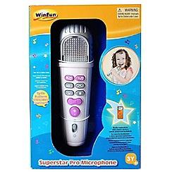WinFun - Superstar pro microphone