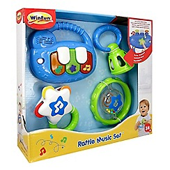 WinFun - Rattle music set - keyboard
