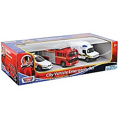 Motormax - City vehicle emergency set