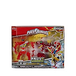 Power Rangers - Mixx N Morph - Dino Charge Red Ranger and Megazord