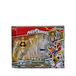 Power Rangers - Mixx N Morph - MM White Ranger and Megazord