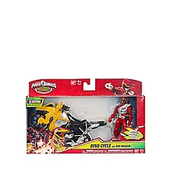 Power Rangers - Cycle with figure - Red Ranger