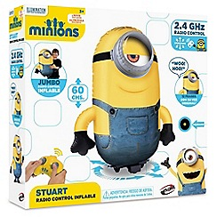 Despicable Me - Radio controlled inflatable Stuart with sounds