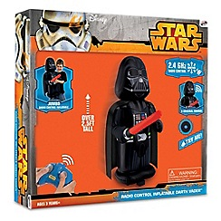 Star Wars - Radio controlled inflatable Darth Vader with sounds