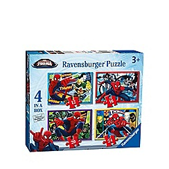 Spider-man - 4 in 1 jigsaw puzzles