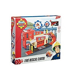 Fireman Sam - Fire station die-cast playset