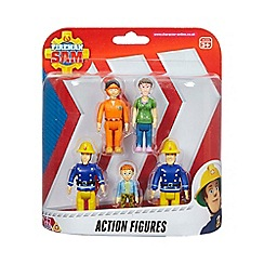 Fireman Sam - Five figure pack