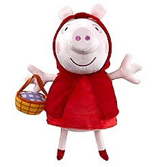 Peppa Pig - Once upon a time supersoft red riding hood peppa