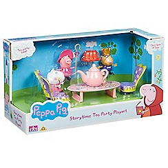 Peppa Pig - Story time tea party playset