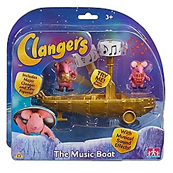 Clangers - The music boat