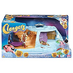 Clangers - Home planet playset with one figure