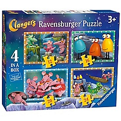 Ravensburger - 4 in 1 jigsaw puzzles
