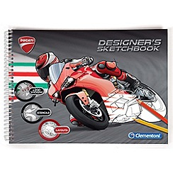 Clemontoni - Ducati sketchbook