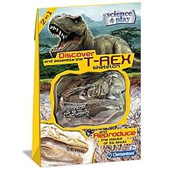 Clemontoni - Discover T-rex skeleton - kit
