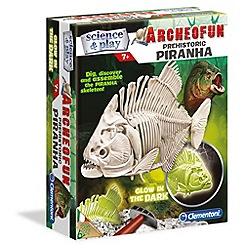 Clemontoni - Archeofun Piranha glow in the dark - kit