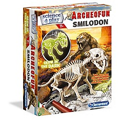 Clemontoni - Archeofun Smilodon glow in the dark - kit